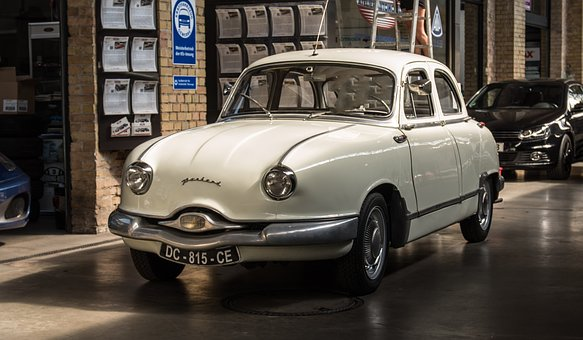 Panhard, Oldtimer, Rarity, Classic, Old, Pkw