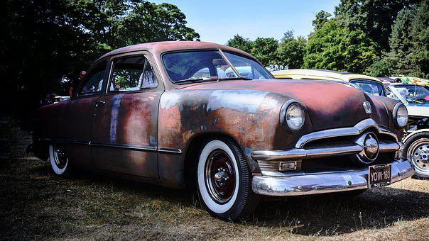Ford, Car, Classic, Automotive, Vehicle, Oldtimer, Old