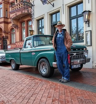Ford, Oldtimer, Owner, Auto, Automotive, Classic