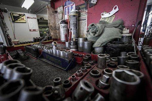 Toolbox, Tools, Repair, Equipment, Maintenance, Wrench