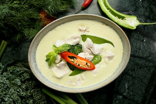 Green Curry, Thai Food, Thai Ingredient, Chilli, Curry