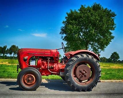 Oldtimer, Tractors, Tractor, Porsch, Porsche Diesel