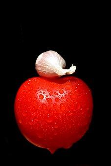 Tomato, Garlic, Clove Of Garlic, Cook, Eat, Vegetables