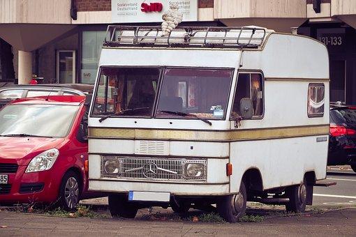 Auto, Mobile Home, Automotive, Bus, Vehicle, Van