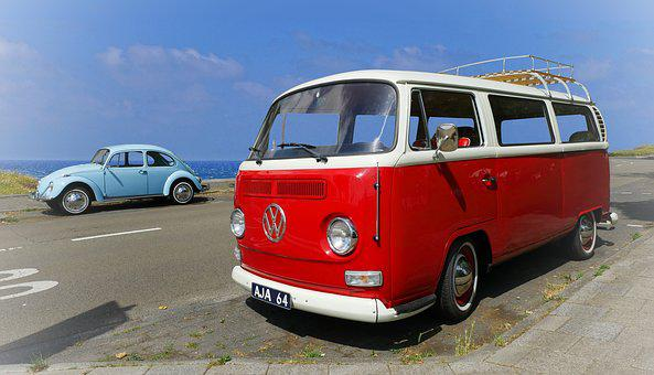 Vw, Volkswagen, Volkswagenbus, Vw T2, Bulli, Camper Van