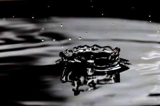 Drops, Water, Wet, Liquid, Dripping, Spray, Background