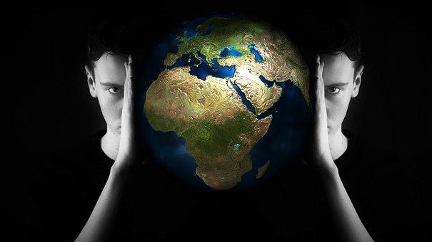 Head, World, Globe, Psychology, Philosophy, Perception
