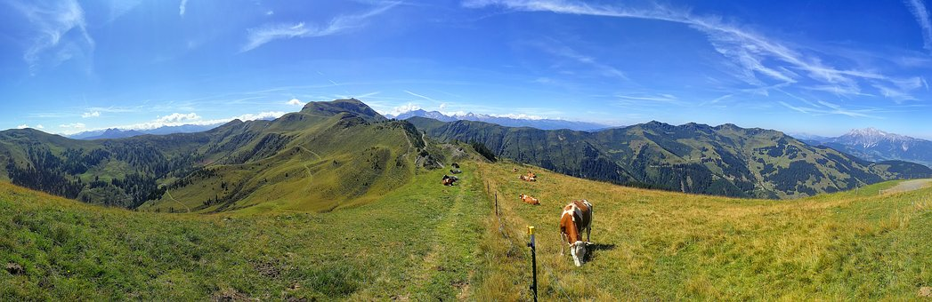 Mountain Panorama, Alpine, Nature, Landscape, Mountains