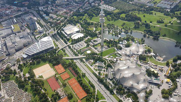 Olympia, Olympic Park, Munich, Architecture, Bavaria