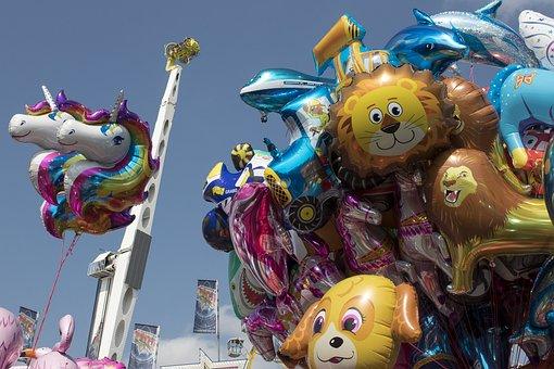Balloon, Ride, Folk Festival, Autumn Festival, Customs