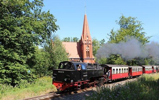 Church, Bathrooms Ground, Molli, Forest, Heiligendamm