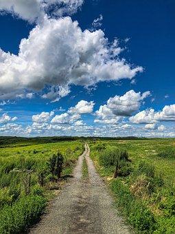 Aso, Blue Sky, Japan, Kumamoto, Landscape, Cloud, Green