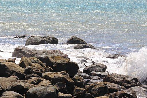 Costa Rica, Outdoors, Travel, Blue, Beach, Ocean, Glare