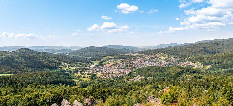 Bodenmais, City, Bavarian Forest, View, Landscape