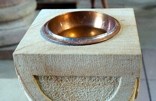 Holy Water Boiler, Church, Religion, Christianity