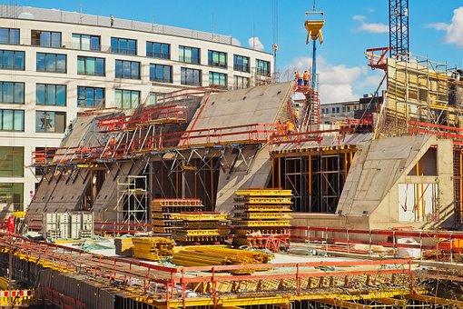Construction, Site, Build, Work, Architecture