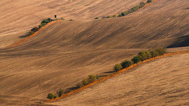 Moravia, South Moravia, Landscape, Field, Czechia