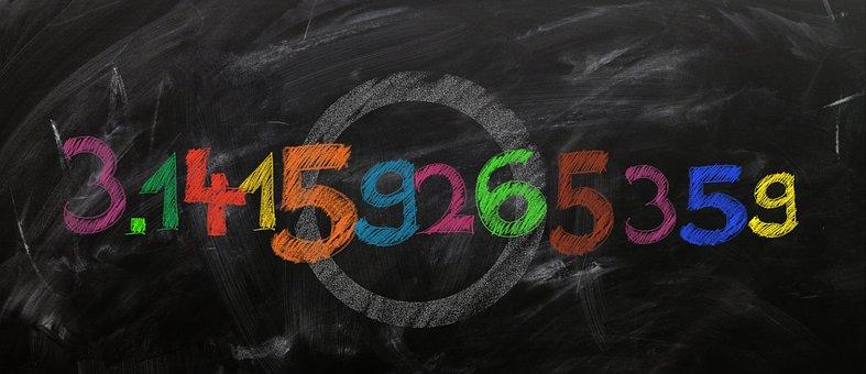 Pi, Board, School, District, Diameter, Extensive, Ratio