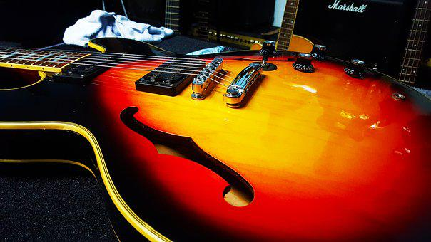 Electric Guitar, String Music, Musical Instrument