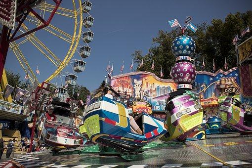 Carousel, Ferris Wheel, Folk Festival, Autumn Festival