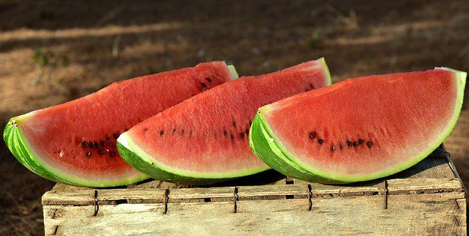 Melon, Watermelon, Fruit, Food, Summer, Juicy, Red