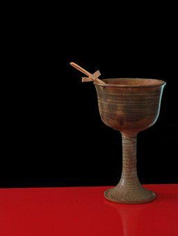Goblet, Chalice, Crusades, Holy, Grail, Cross