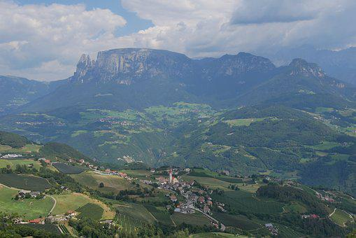 South Tyrol, Landscape, Italy, Dolomites, Mountains
