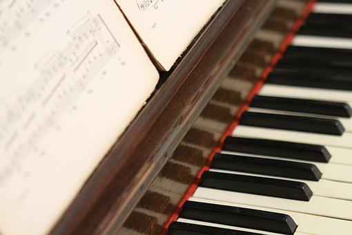 Piano, Music, Notes, Melody, Instrument, Sound