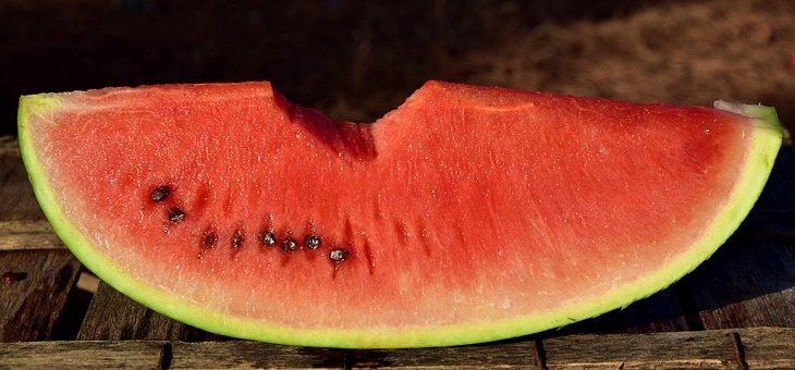 Melon, Watermelon, Fruit, Food, Summer, Juicy, Red