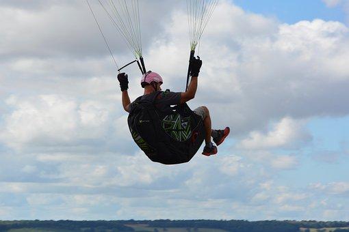 Paragliding, Paraglider, Monitor Paragliding, Hobbies