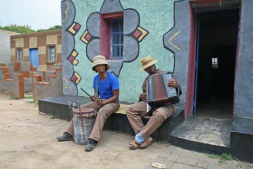 Basotho Musicians, Basotho, Men, Music, Instruments