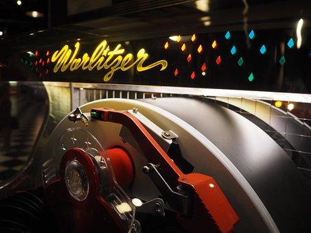 Wurlitzer, Jukebox, Musicbox, Music, Record, Shellac