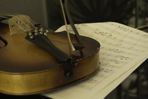 Violin, Music Sheet, Violin Arc, Reflex