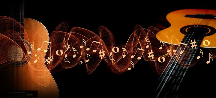 Music, Guitar, Treble Clef, Sound, Concert, Musician