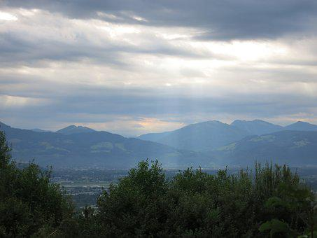 Mountains, Landscape, Alpine, Salzburg, Sky, Nature