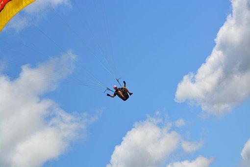 Paragliding, Paraglider, Harness-paraglider, Hobbies