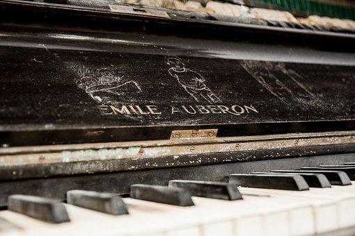 Music, Piano, Melody, Keyboard, Musician, Classic, Old