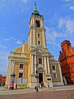 Church Of The Holy Spirit, Church, Poland, Torun