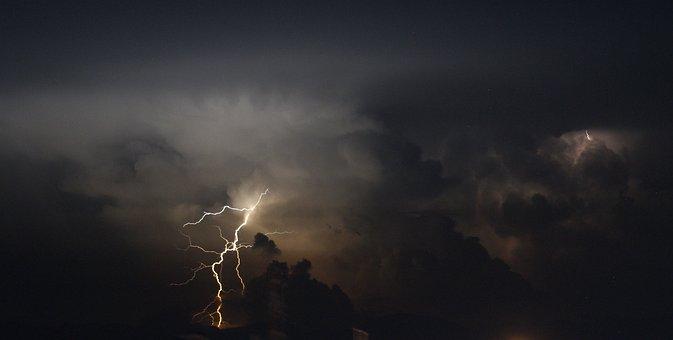 Landscape, Thunder, Ray, Storm, Rain, Armenia