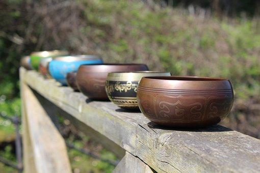 Tibetan, Singing Bowl, Meditation, Relaxation, Wellness