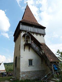 Transylvania, Romania, Biertan, Historic Center