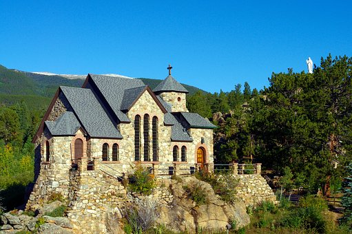 Church On The Rock, Saint Malo, Malo, Church, Chapel