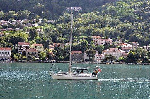 Montenegro, Sailboat, Sea, Boat, The Adriatic Sea