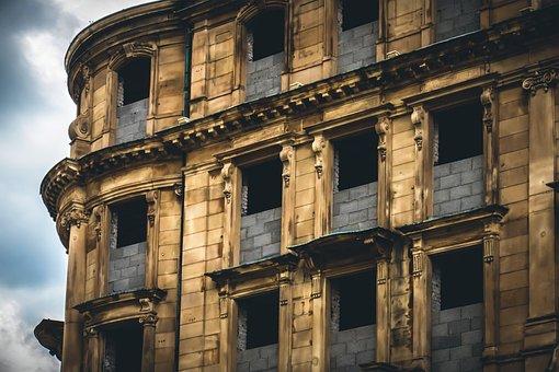Building, Site, Ruin, Build, Housebuilding, Unfinished