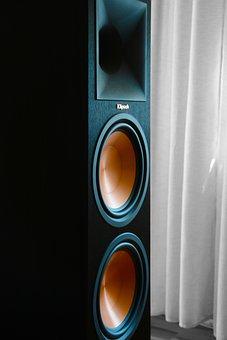 Speakers, Multimedia, Music, Hifi, Audio, Box, Sound