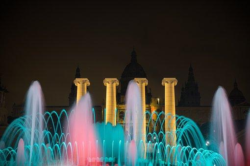 Magic Fountain, Montjuic, Source, Architecture