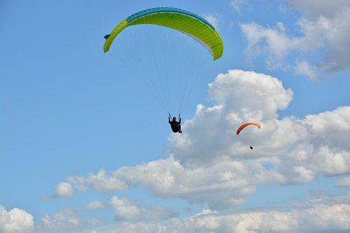 Paragliders, Hobbies, Adventure, Sport, Air, Nature