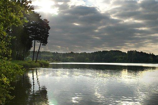 Cove, Island, Water, Sea, Summer, Landscape, Sky