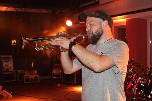 Concert, Live, Live Music, Musician, Trumpet, Trúbkar