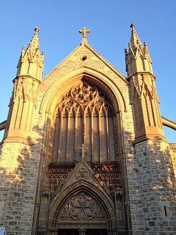 Cross, Church, Steeple, Wedding, Religion, Faith
